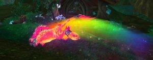 Do que adianta ficar rapidão e não mostrar um arcoíris a lá Nyan Cat?