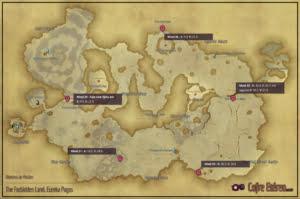 Eureka Pagos - Mapa de Missões